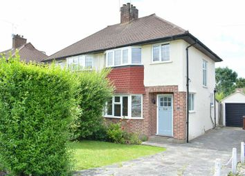 Thumbnail 3 bed semi-detached house to rent in Parklawn Avenue, Epsom
