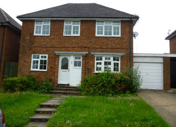 Thumbnail 3 bed detached house to rent in Sutherland Place, Luton, Beds
