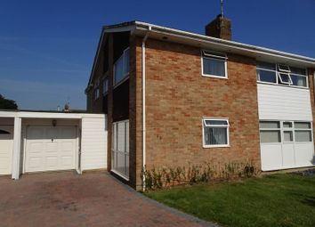 Thumbnail 3 bed semi-detached house for sale in Poling Close, Goring-By-Sea, Worthing