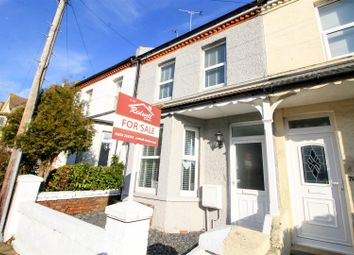 Thumbnail 3 bedroom terraced house for sale in Windsor Road, Bexhill-On-Sea
