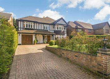 Thumbnail 4 bed detached house for sale in Great Woodcote Park, Purley, Surrey