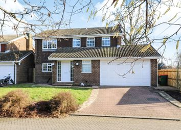 Thumbnail 5 bed detached house for sale in Sharpthorne Close, Crawley