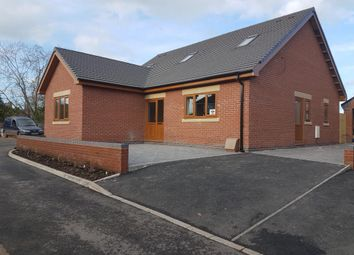 Thumbnail 4 bed detached bungalow for sale in The Armoury, Shropshire Street, Market Drayton