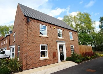 Thumbnail 4 bed detached house for sale in The Green, Church Street, Burbage, Hinckley