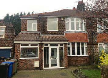 Thumbnail 4 bed property to rent in Cromwell Avenue, Gatley, Cheadle