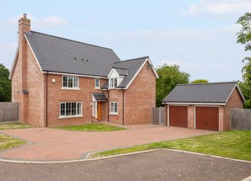Thumbnail 5 bed detached house for sale in The Cedars, Wrentham, Beccles