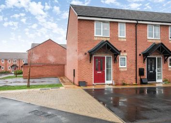Thumbnail 2 bed end terrace house for sale in Memorial Drive, Wiggington, Tamworth, Staffordshire