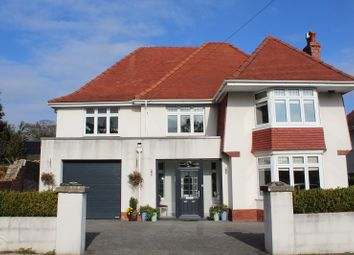 Thumbnail 4 bedroom detached house for sale in Highpool Lane, Newton, Swansea, West Glamorgan.