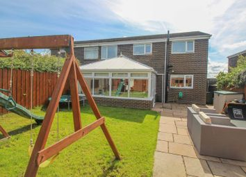 Thumbnail 4 bed semi-detached house for sale in Redesdale Avenue, Blaydon-On-Tyne