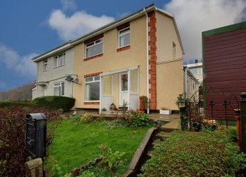 Thumbnail 3 bed semi-detached house for sale in Parkes Lane, Tranch, Pontypool
