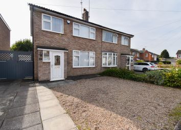 Thumbnail 3 bed semi-detached house to rent in Keble Drive, Syston, Leicester