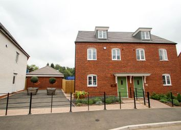 Thumbnail 3 bed semi-detached house for sale in Cornucopia Grove, Barlaston, Stoke-On-Trent