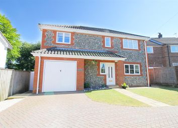 Thumbnail 3 bed detached house for sale in Topps Hill Road, Thorpe Market, Norwich