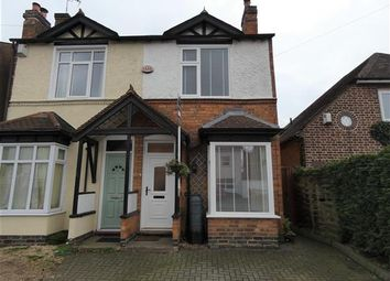 Thumbnail 2 bed semi-detached house for sale in Olton Road, Shirley, Solihull