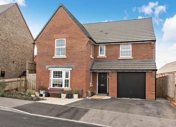 Thumbnail 4 bed detached house for sale in Columbine Way, Clanfield