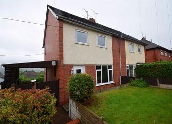 Thumbnail 3 bedroom semi-detached house to rent in Lane Farm Grove, Stoke-On-Trent
