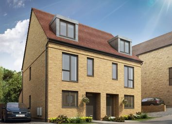 "Thumbnail 3 bedroom semi-detached house for sale in ""Chaplin"" at The Green, Upper Lodge Way, Coulsdon"