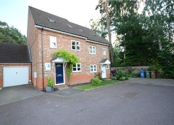 Thumbnail 3 bed semi-detached house for sale in Brakes Rise, College Town, Sandhurst