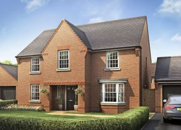 "Thumbnail 4 bed detached house for sale in ""Winstone"" at Priorswood, Taunton"