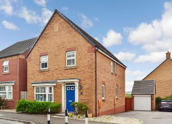 Thumbnail 4 bed detached house for sale in Longacres, Brackla, Bridgend.