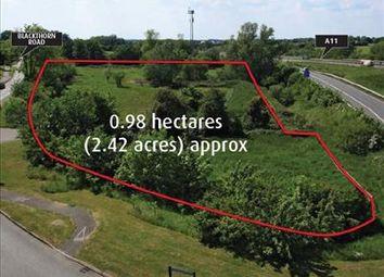 Thumbnail Land for sale in Bridge Farm, Blackthorn Road, Attleborough, Norfolk