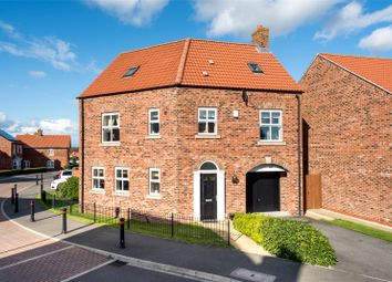 Thumbnail 4 bed detached house for sale in Station Rise, Riccall, York