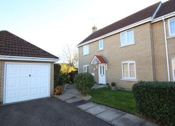 Thumbnail 3 bed semi-detached house for sale in West End Close, Witchford, Ely