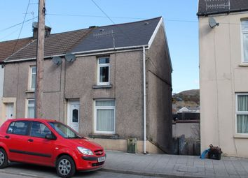 Thumbnail 2 bed end terrace house for sale in Commercial Street, Maesteg, Mid Glamorgan