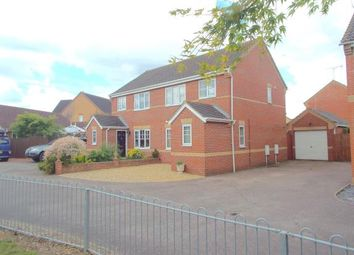 Thumbnail 3 bed semi-detached house for sale in Dussindale, Norwich, Norfolk