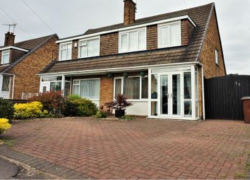 Thumbnail 3 bed semi-detached house for sale in Ladbrooke Crescent, Nottingham