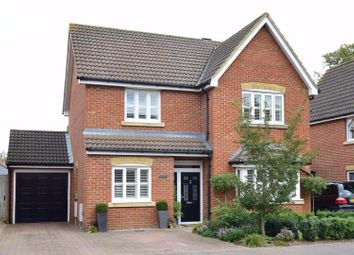 Thumbnail 4 bed detached house for sale in Magnolia Drive, Chartham, Canterbury