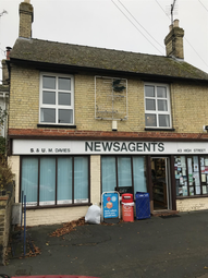 Thumbnail Retail premises for sale in High Street, Warboys, Huntingdon