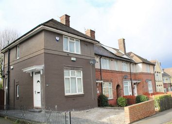 Thumbnail 2 bed end terrace house for sale in Shirehall Crescent, Sheffield, South Yorkshire
