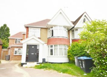 Thumbnail 3 bed terraced house to rent in Queenscourt, Wembley, Greater London