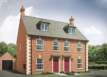"Thumbnail 3 bedroom semi-detached house for sale in ""The Thornton G"" at Grange Road, Hugglescote, Coalville"