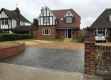 Thumbnail 3 bed detached house for sale in Rushmere Road, Ipswich