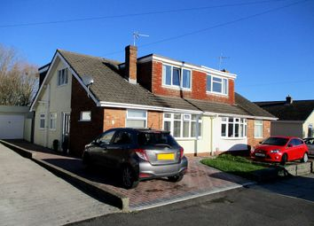 Thumbnail 4 bed semi-detached bungalow for sale in Rockfields, Porthcawl