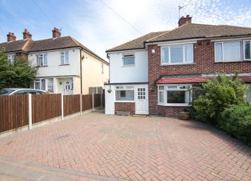 Thumbnail 3 bed semi-detached house for sale in Northdown Hill, Broadstairs