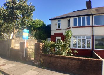 Thumbnail 3 bed semi-detached house to rent in Poplar Crescent, Porthcawl