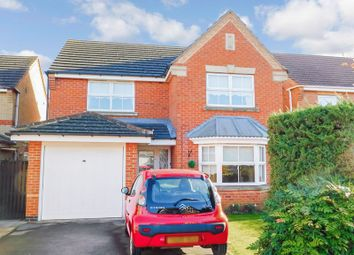 Thumbnail 4 bed detached house for sale in Tattershall Close, Barrowby Gate, Grantham