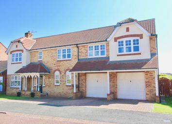 Thumbnail 5 bed detached house for sale in Siskin Close, Hartlepool