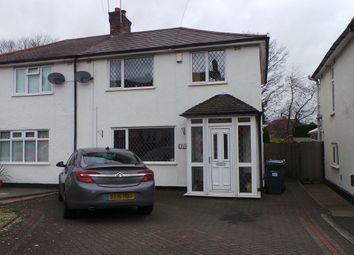 Thumbnail 3 bed semi-detached house for sale in Jockey Road, Sutton Coldfield, West Midlands