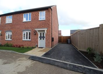 Thumbnail 3 bed semi-detached house to rent in Ludlow Gardens, Bellway Aspire 2 Development, Grantham