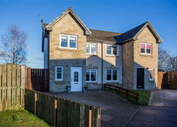 Thumbnail 3 bed semi-detached house for sale in Kirkside Crescent, Stirling, Stirlingshire