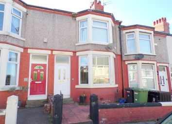 Thumbnail 3 bed terraced house to rent in Shamrock Road, Birkenhead