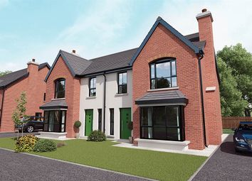 Thumbnail 4 bedroom semi-detached house for sale in 4, Royal Ascot Mews, Carryduff