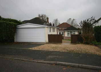 Thumbnail 3 bed detached bungalow for sale in Byron Road, Wimborne
