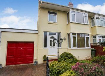 Thumbnail 4 bed semi-detached house for sale in Higher Cadewell Lane, Torquay