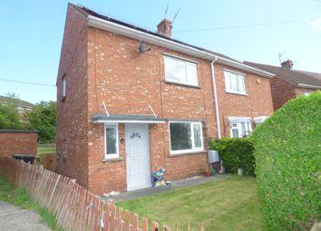 Thumbnail 2 bed semi-detached house for sale in Waverley Avenue, Bedlington