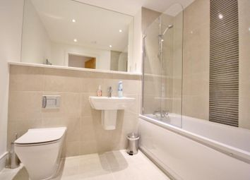 Thumbnail 1 bed flat to rent in West Plaza, Ashford, Middlesex
